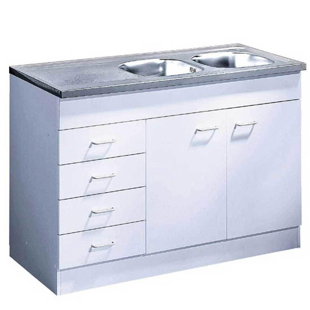 Spülschrank in Weiß Schubladen Jetzt bestellen unter: https://moebel ...