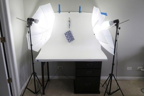 $150 DIY photo studio (a mini how-to) By Erin Erickson of Dog Under My Desk