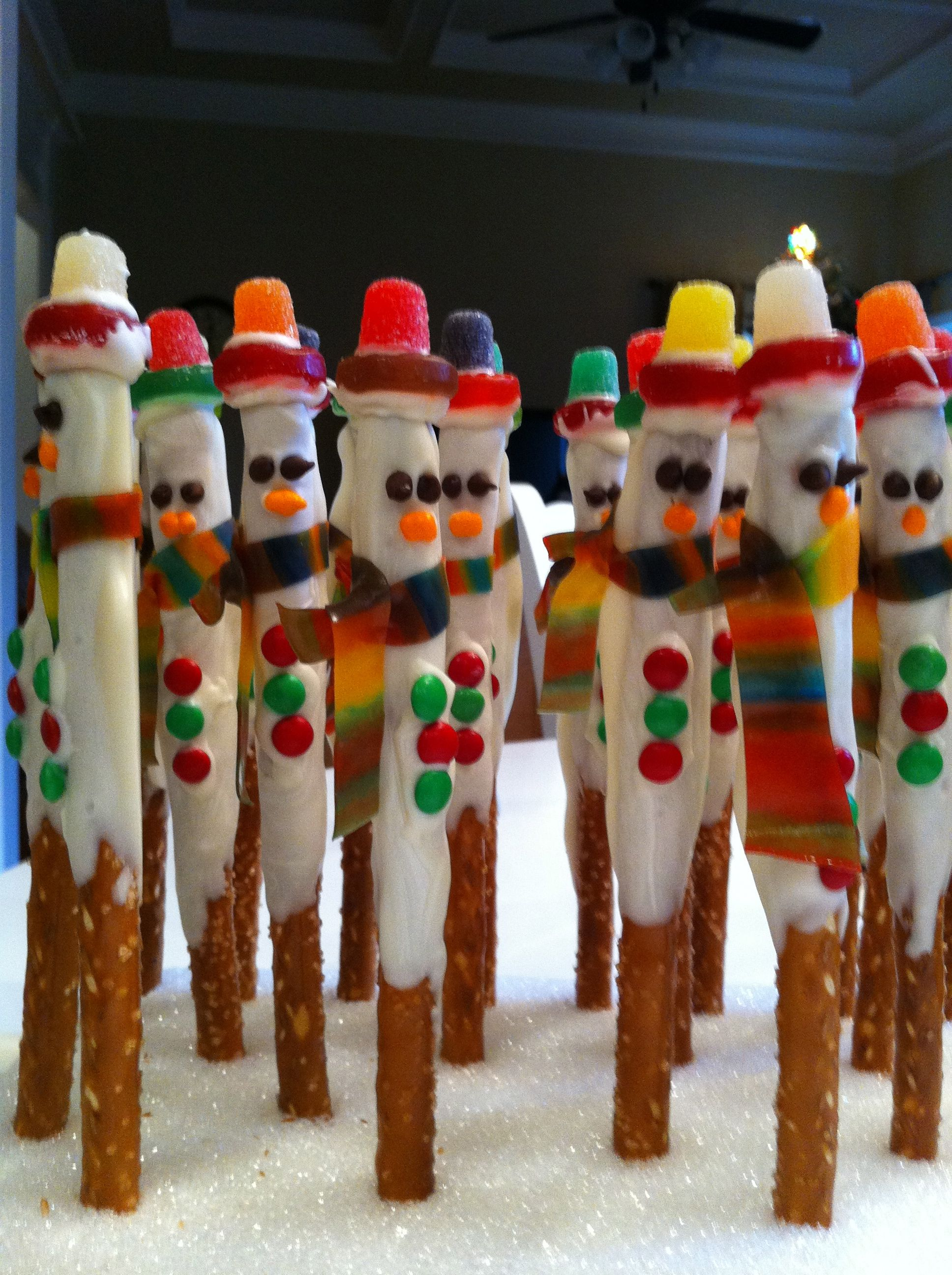 Snowman Sticks - adorable
