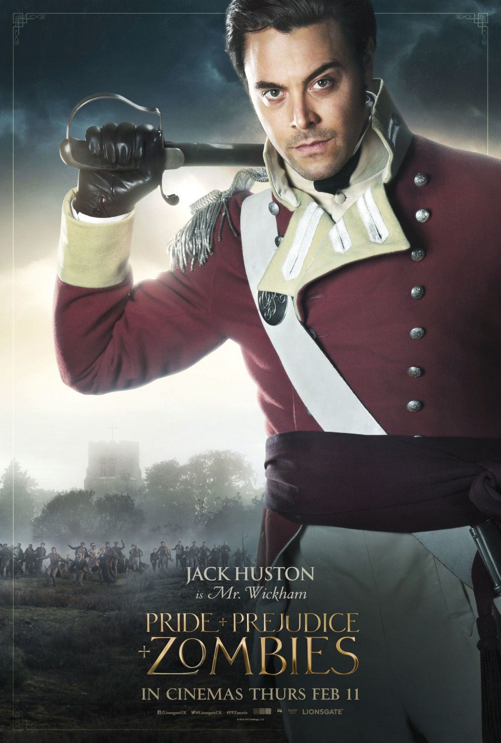 Jack Huston Mister Wickham Mr Wickham Mr Wickham Pride And Prejudice And Pride And Prejudice And Zombies Pride And Prejudice Watch Pride And Prejudice