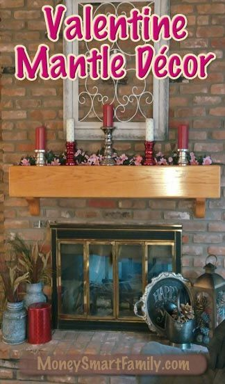5 Valentine Day Decoration and Do It Yourself Projects is part of January Mantle decor - This Valentine Day Decoration page has ideas for Valentine Wall Decor; Valentine Chandelier; Valentine Mantle; Valentine Tree & Valentine Centerpiece