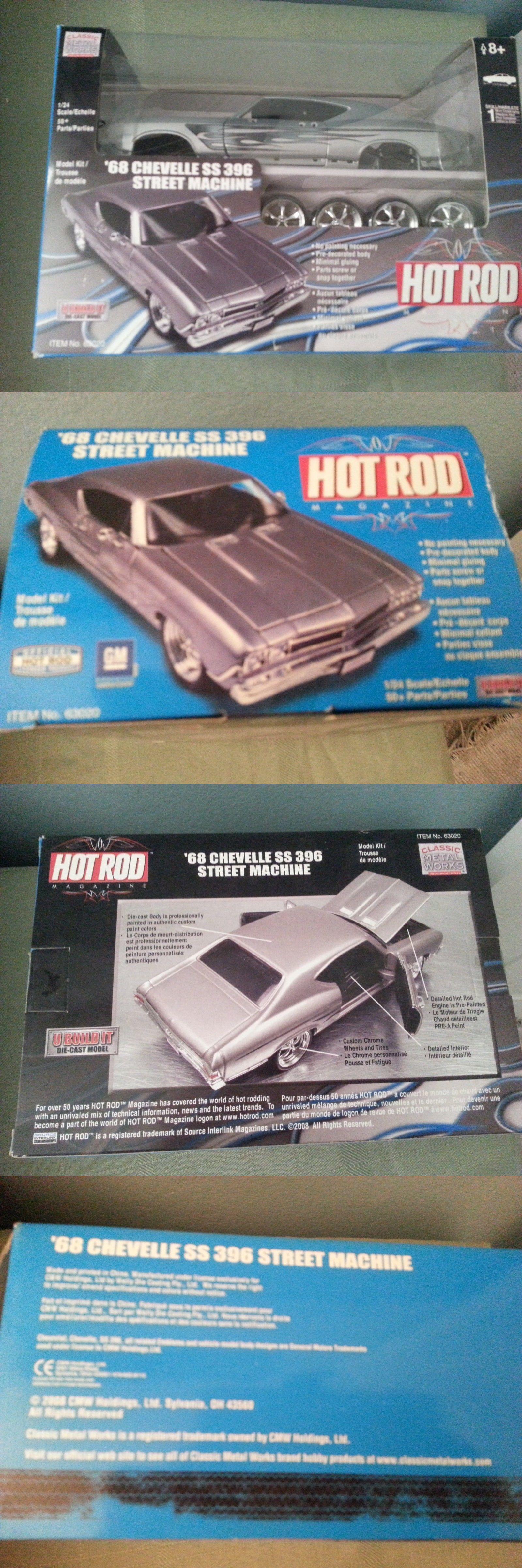 Hot Rod 2582: 1968 Chevelle Ss 396 Street Machine Hot Rod Magazine 1 ...