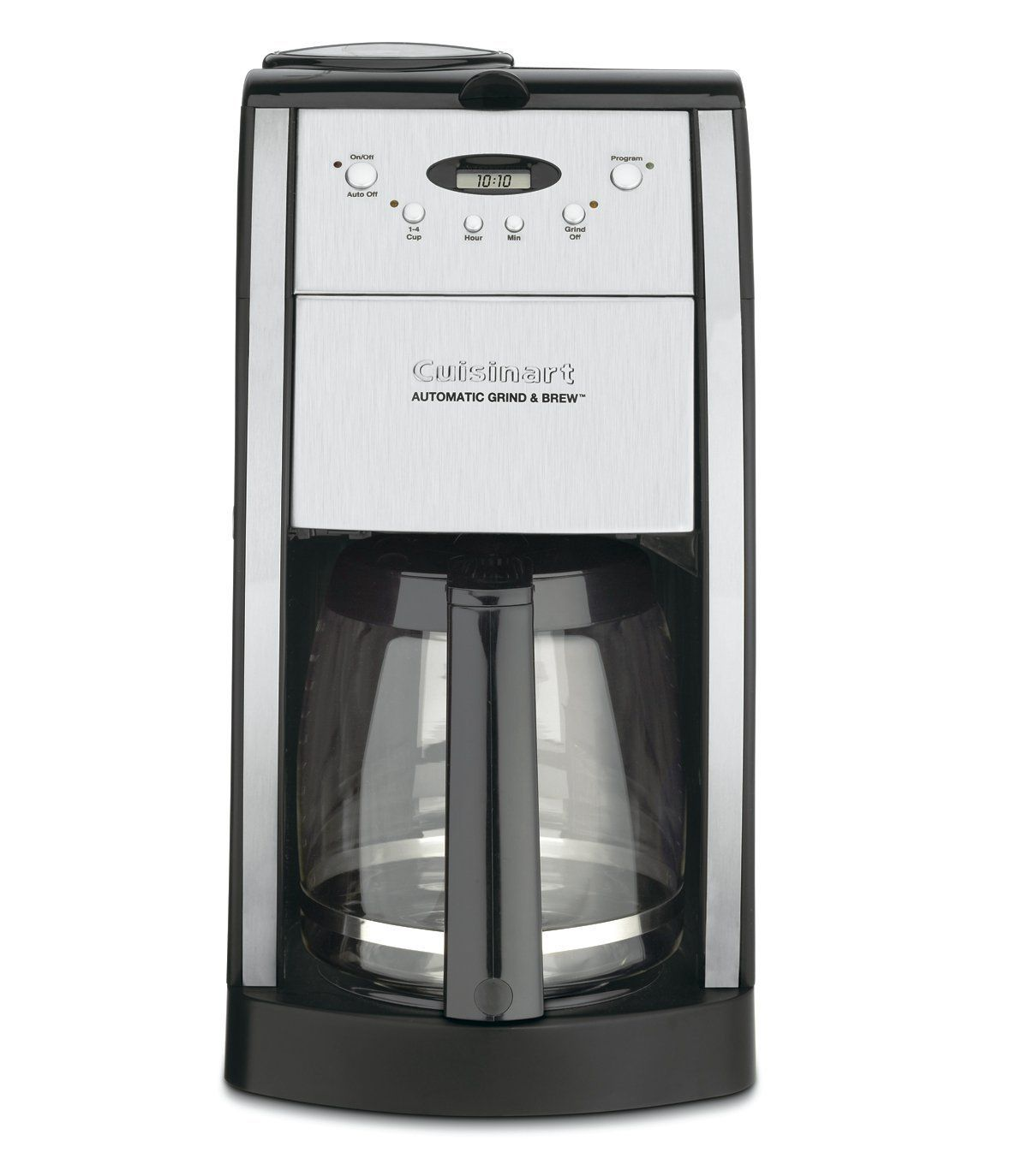 Cuisinart dgb550bkfr 12 cup grind and brew automatic