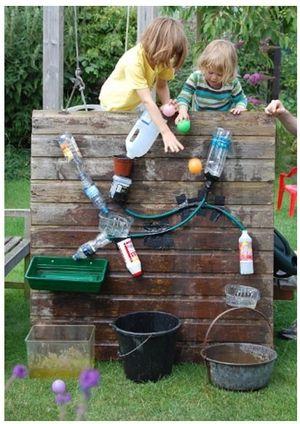 Wasserspiele Kinder, Naturwissenschaft, Ziel, Bastel, Unterrichtsideen,  Klassenzimmer Im Freien, Schule Ideen, Spielplätze, Wasserspiel