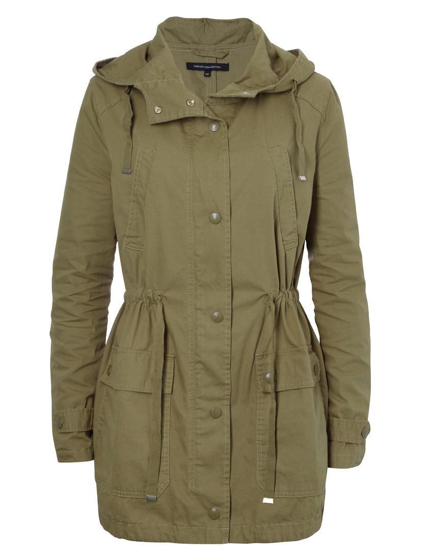 Coats Jackets Shop Online Jackets Womens Clothing Fashion | FCUK ...