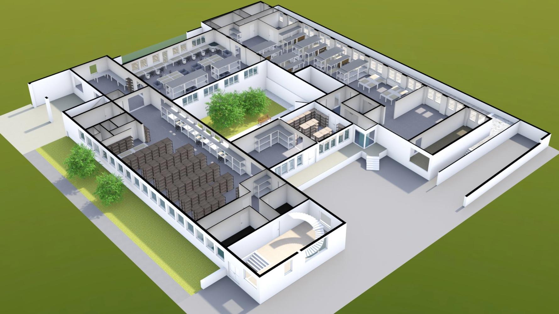 Nice 3d Render Made With Floorplanner Com Create Floor Plan Floor Plans Real Estate