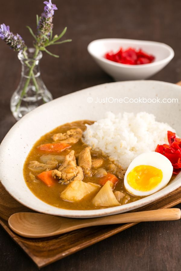Japanese Chicken Curry Easy Japanese Recipes At Justonecookbook Com Curry Chicken Recipes Easy Japanese Recipes Japanese Chicken Curry
