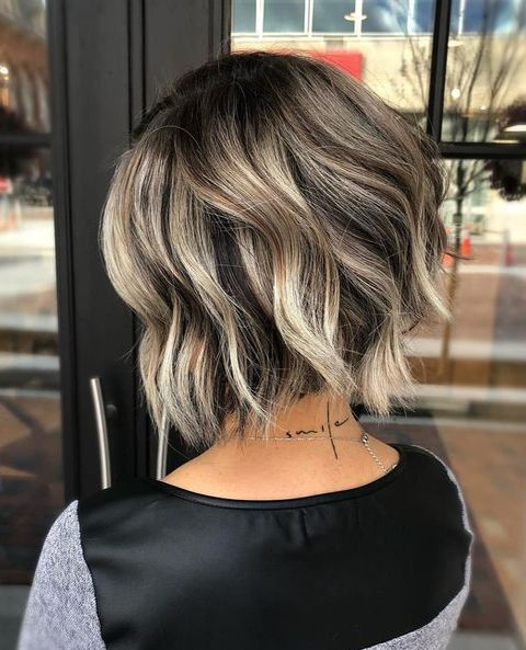 Ideas of color tones for short hairstyles 2019