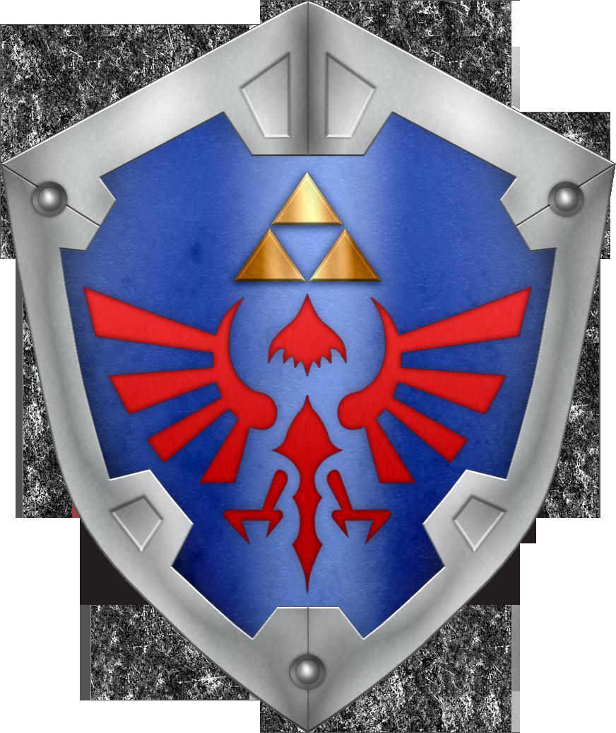 Albw Hylian Shield By Blueamnesiac Deviantart Com On Deviantart Legend Of Zelda Zelda Party Shield