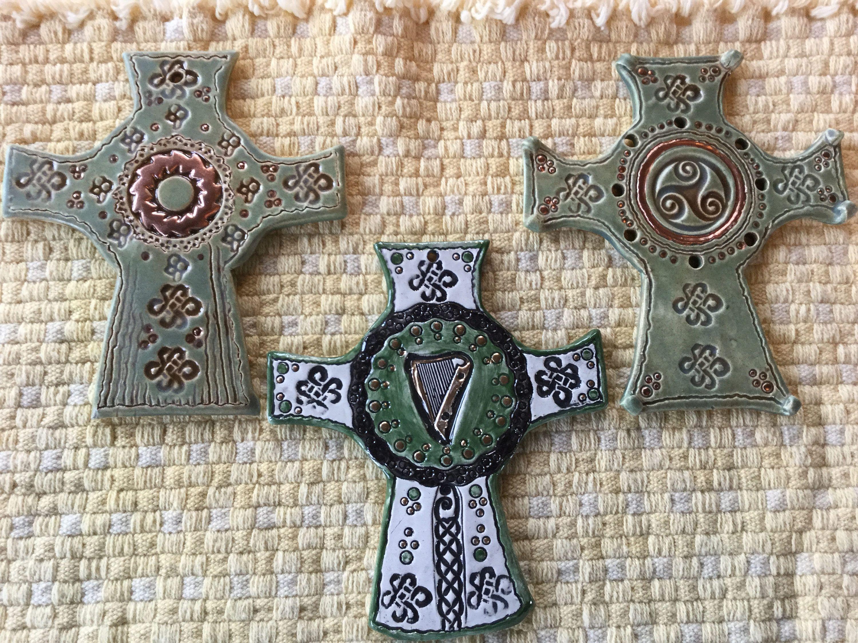 Celtic crossceltic wall crossceltic giftsirish giftsceltic knots