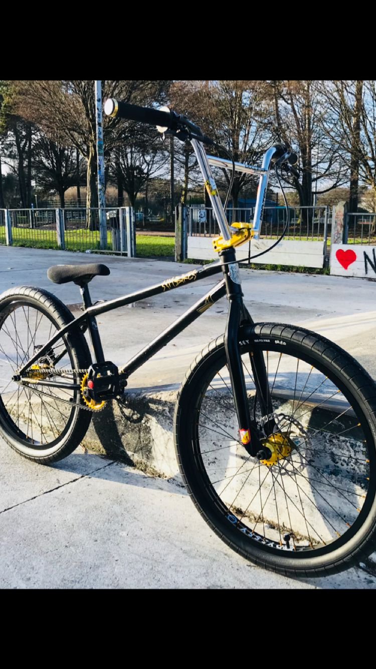 """My custom S&M ATF 24"""" Cruiser with Disc Brakes and Profile+"""