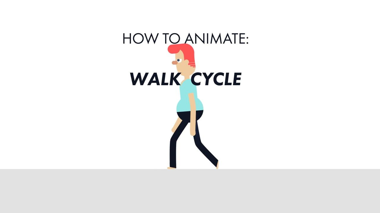 Quick Tip: How to Animate a Walk Cycle by James Hazael