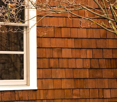 Oil Based Semi Trans Wood Stain On Cedar Shake Siding