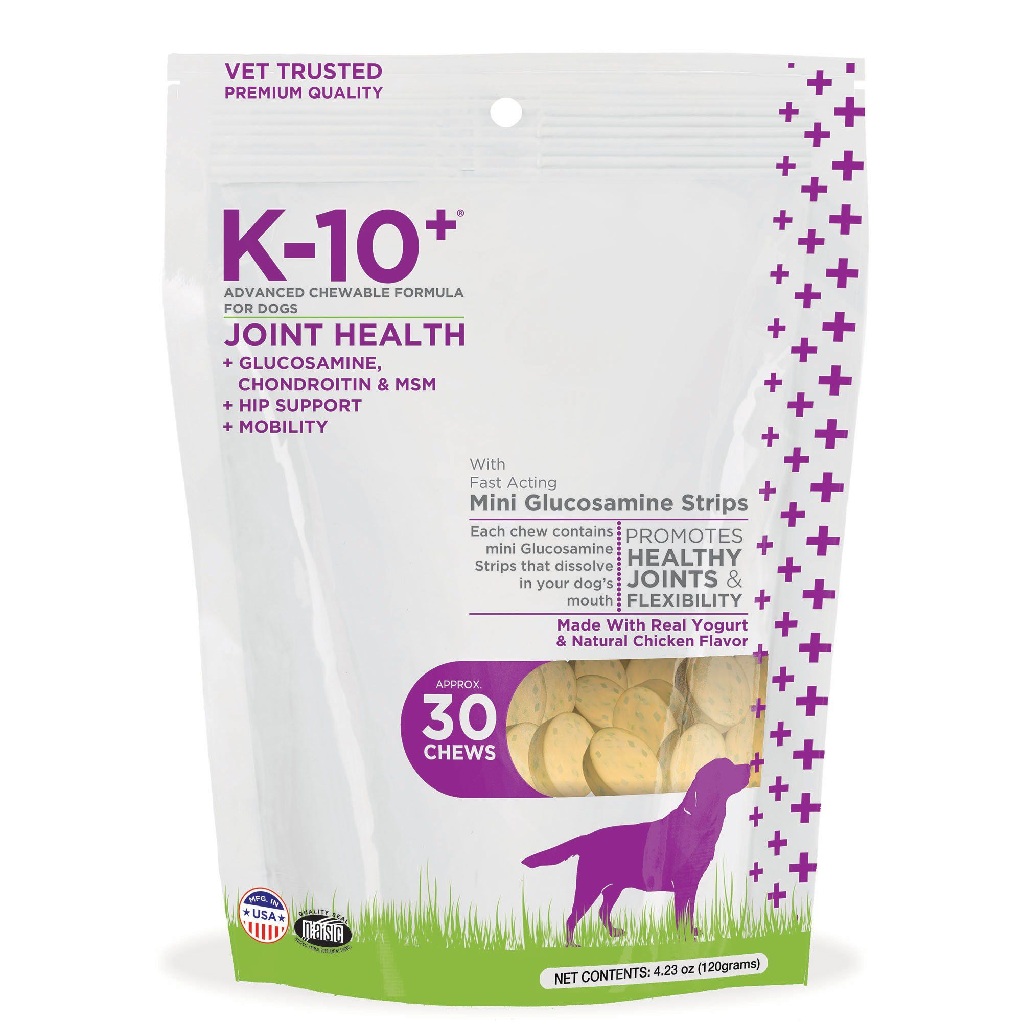 K10 Joint Health Advanced Chewable Formulas for Dogs Pack