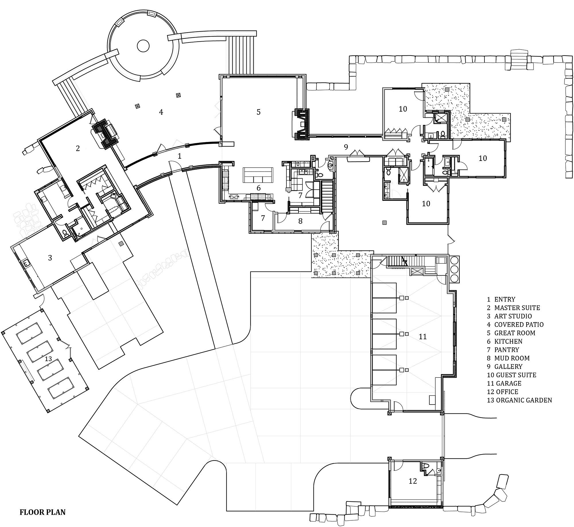 Locati Architects stock farm residencelocati architects | plans | pinterest