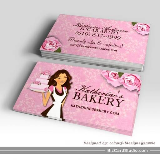 Cake Bakery Business Cards Bakery Business Cards Cake Business Cards Bakery Business Cards Templates