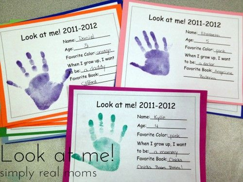FREE printable! I have to do this with my kids every year and keep it in a scrapbook! Love this!
