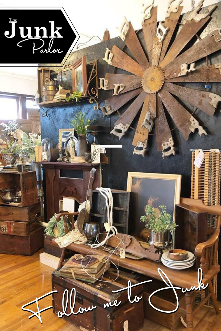 March Shop Tour Old Stuff Vintage Booth Display Antique Stores
