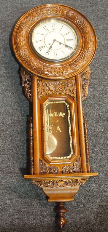 Regulator Clock Relojes De Pared Antiguos Relojes De Pared Pared