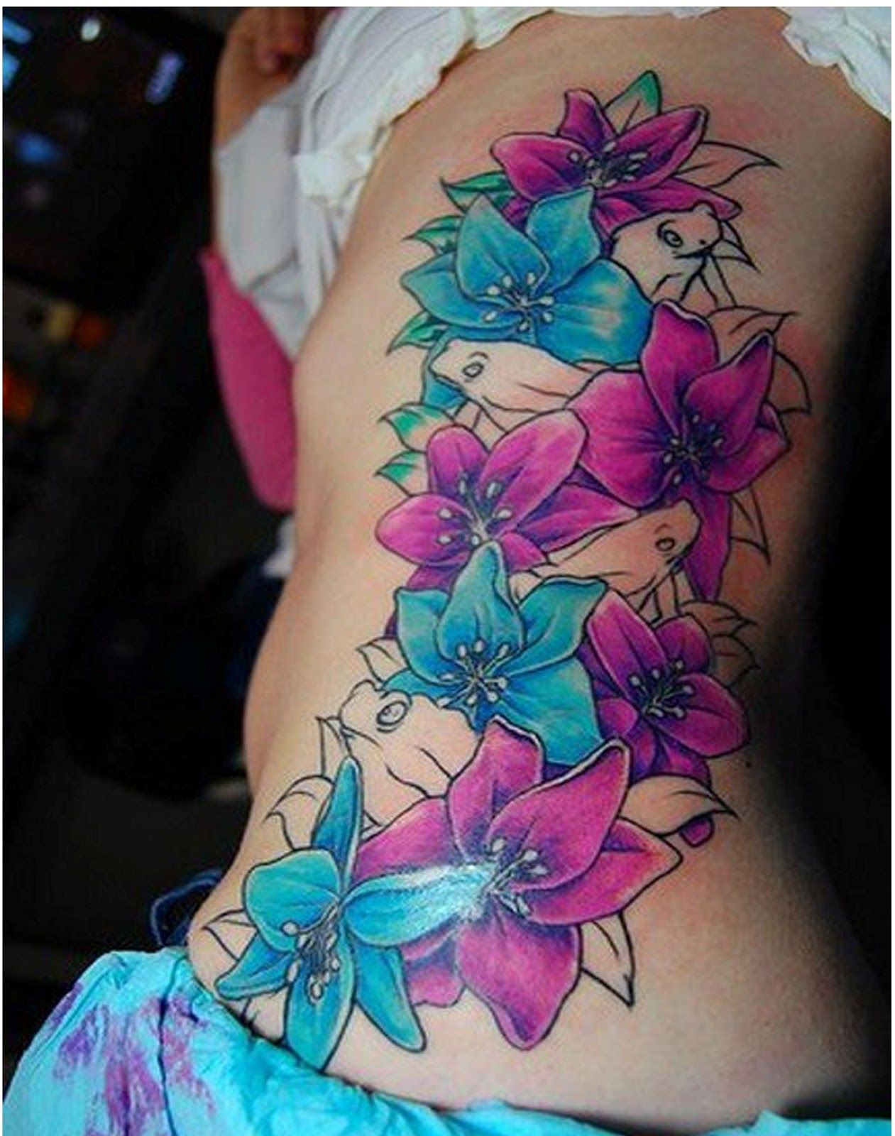 Hawaiian flower tattoos image by Rosie Rivera on Tattoos