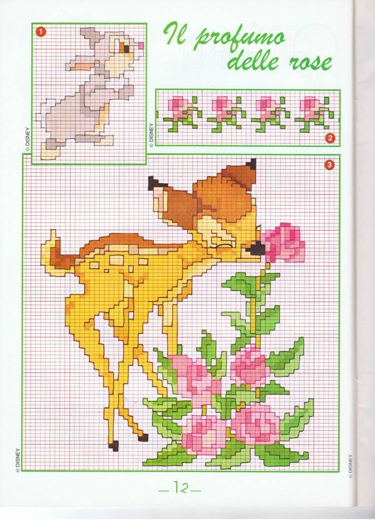 Disney Bambi fleurs (1)