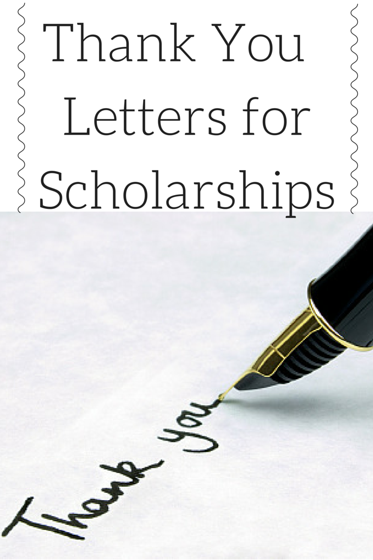 After Receiving A Scholarship It Is Imperative To Send A Well