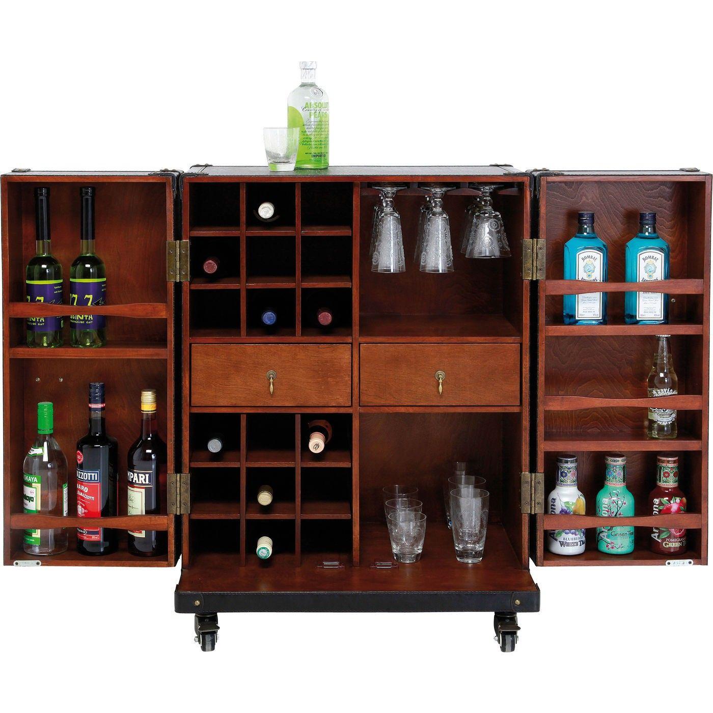 kare design - -bar colonial trunk small - versandkostenfrei jetzt, Möbel