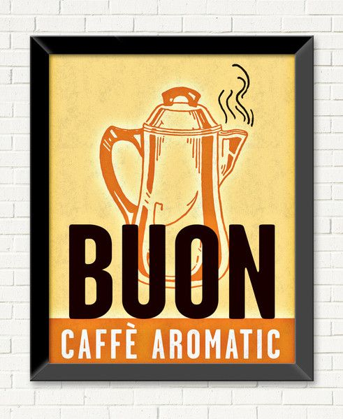 Title: Buon Poster • Collections: Ingestible Things • Type: Wall Art • $236