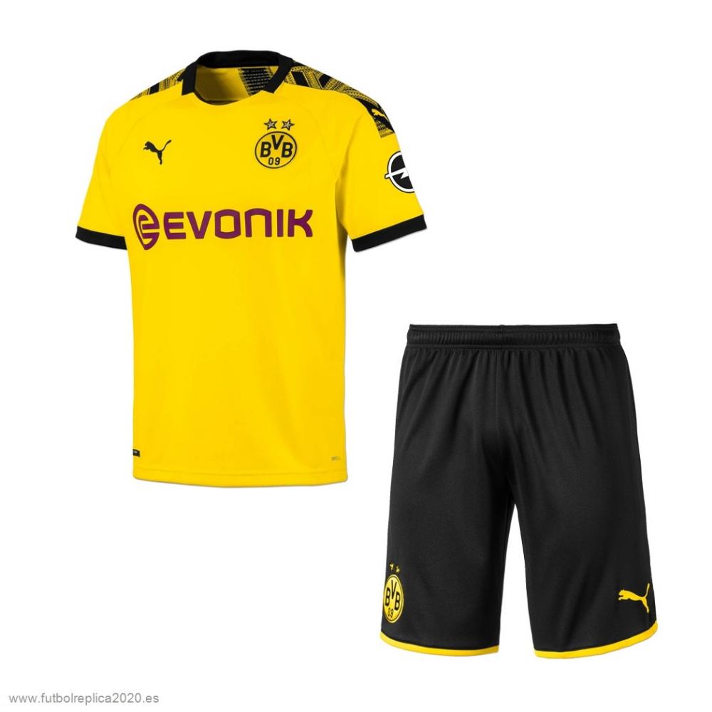 Casa Conjunto De Niños Borussia Dortmund 2019 2020 Amarillo Baratas Camiseta Borussia Dortmund Camisetas Camisetas De Fútbol