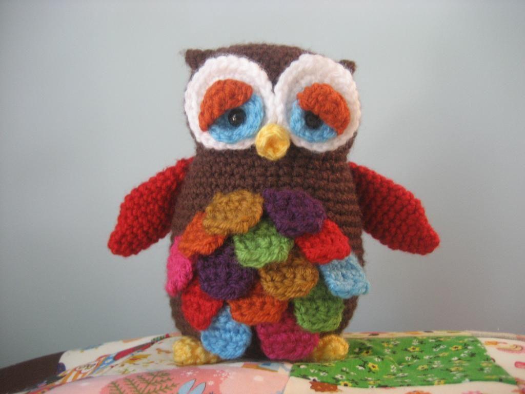 Mr. Hoot Amigurumi Owl Pattern | Owl, Tejido y Apliques