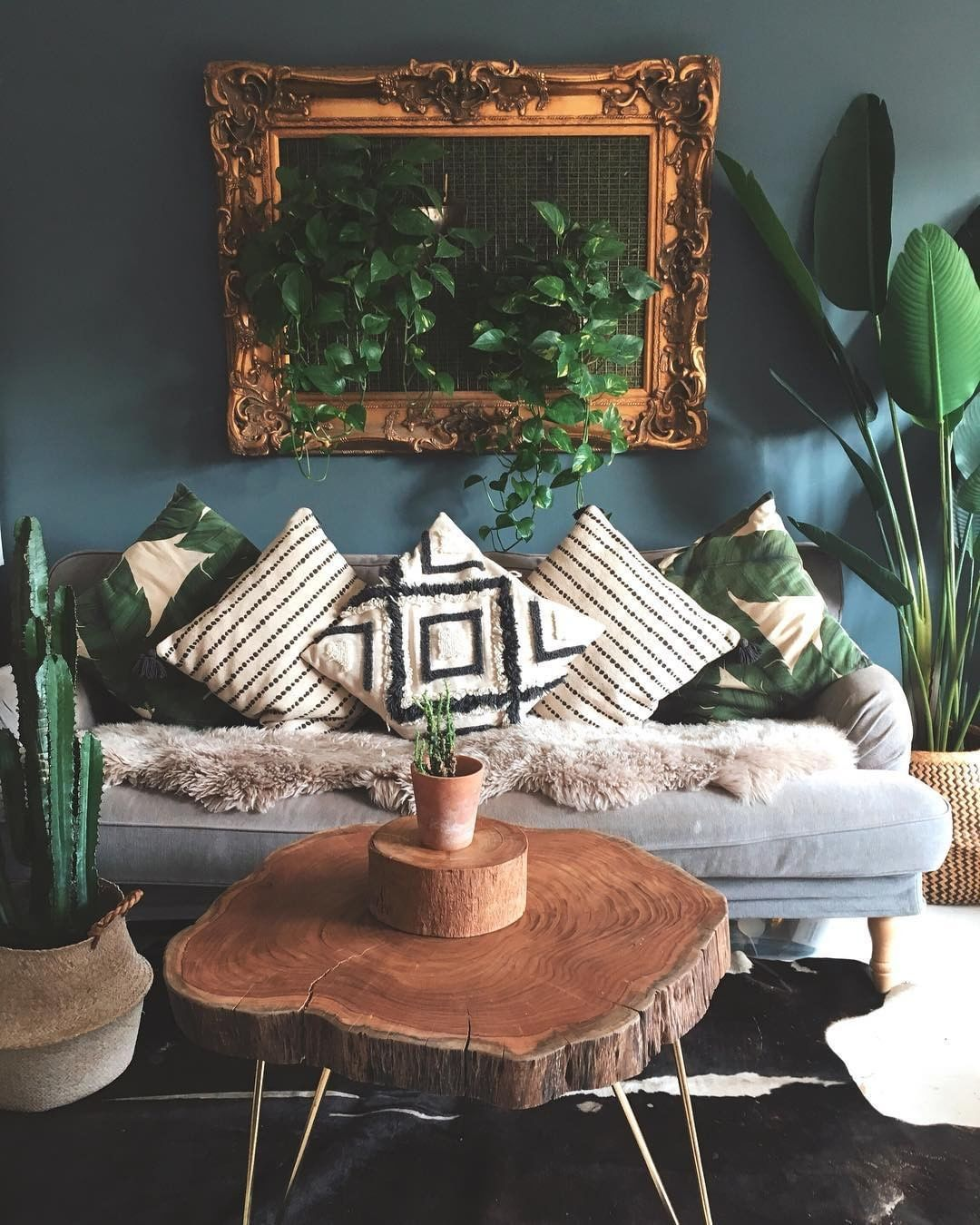 "Photo of Interior Boho Home Decor on Instagram: ""Via @free_wildlife Do you like the coffee table?? . Follow us for more @bohemian_heaven . Credits @la_sidhu . #interior2you…"""
