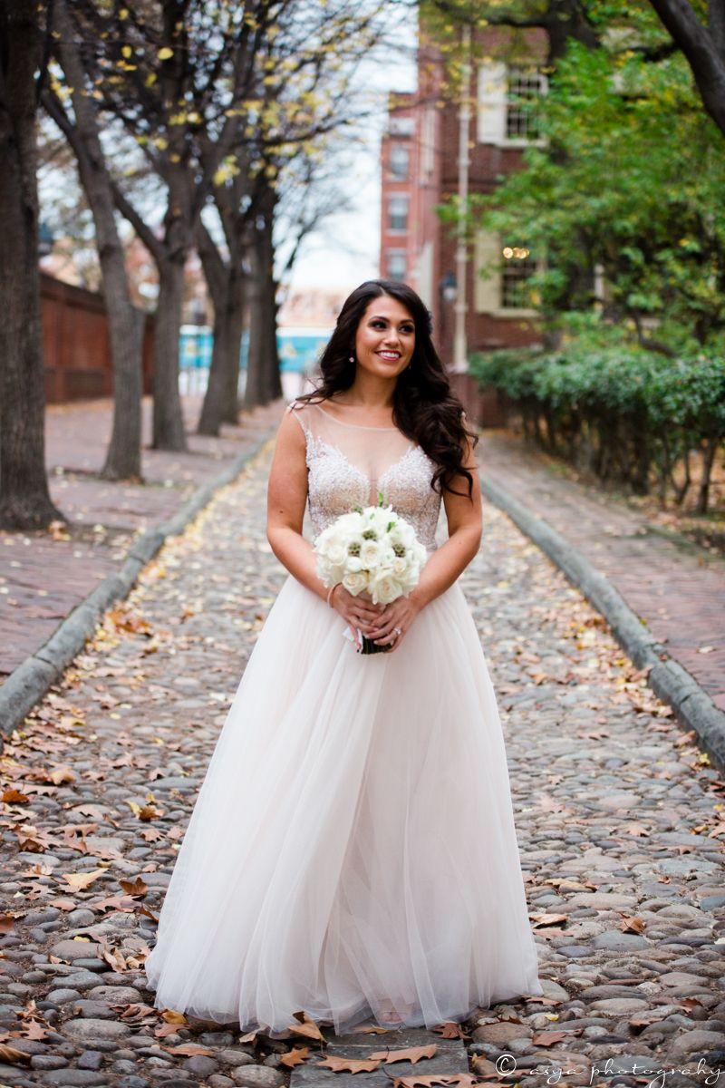 Real wedding mallory adam bride in watterswtoo kaliah