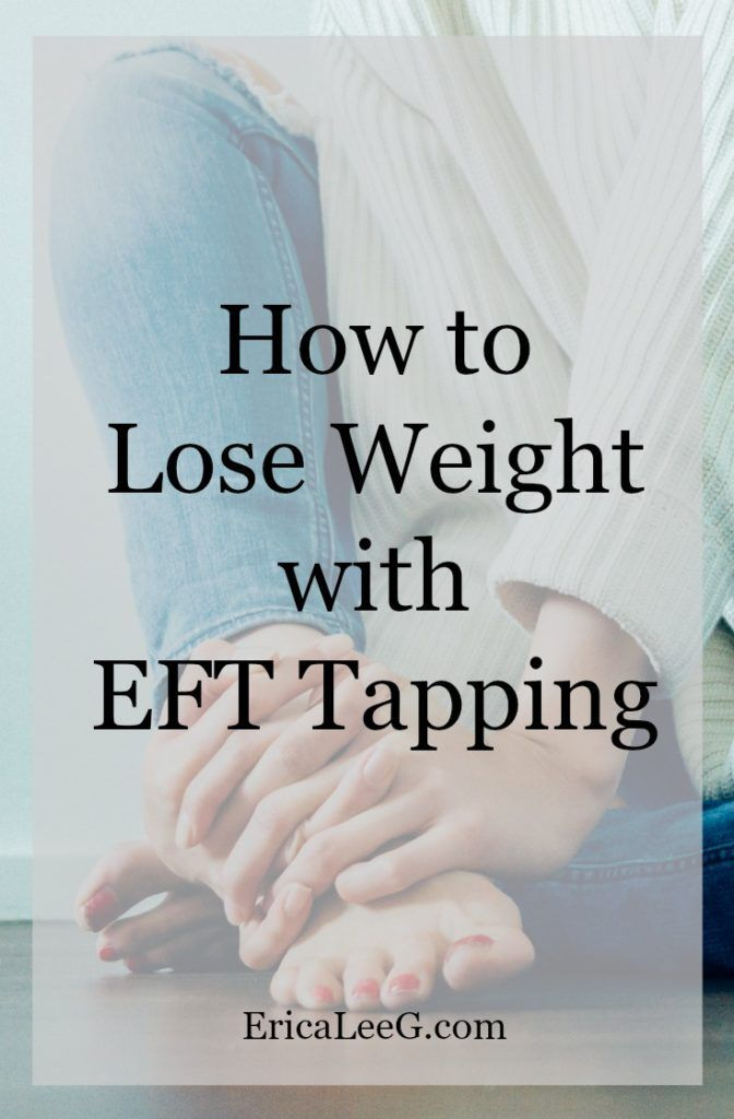 What is tapping how help lose weight