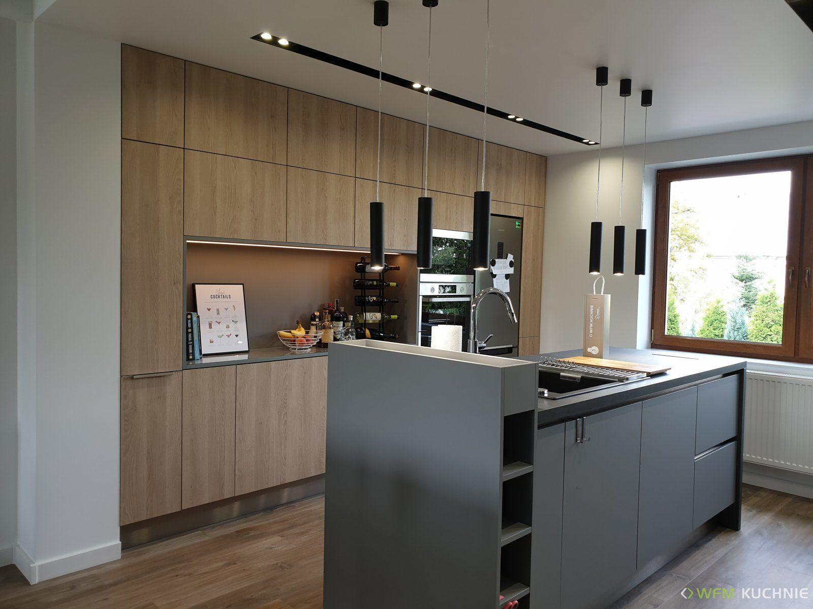 Kuchnia Wfm Punto Dab Gladstone Piaskowy P92f Minimalist Kitchen Cabinets Modern Kitchen Design Kitchen Design