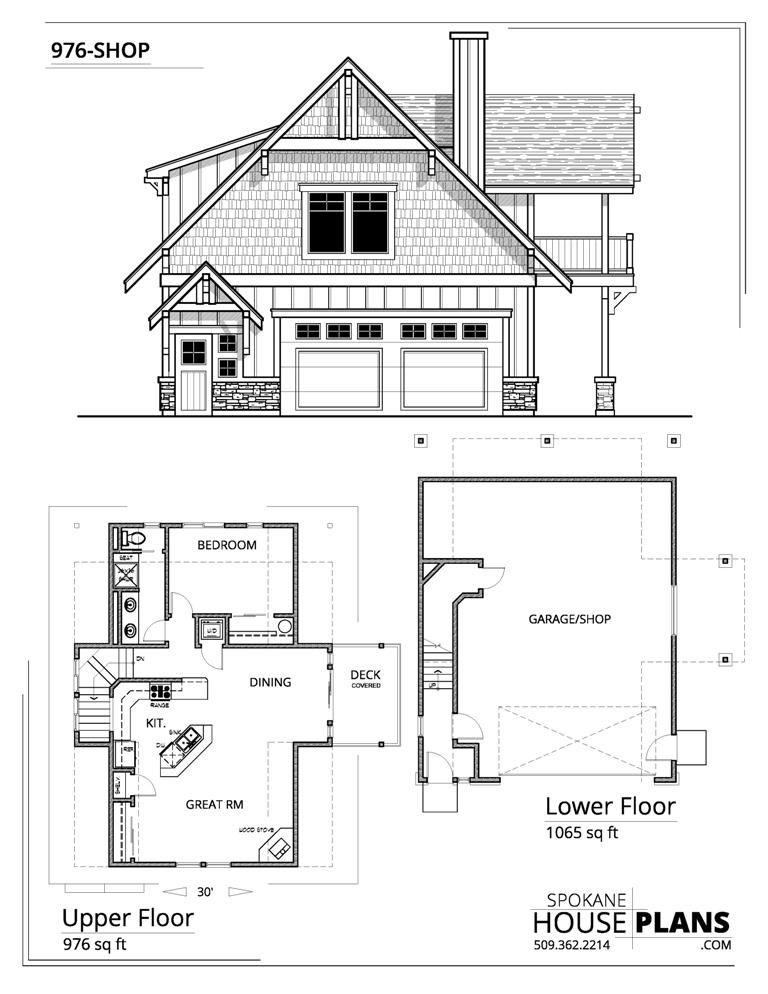 976 Shop Carriage House Plans Garage Apartment Floor Plans Garage Floor Plans