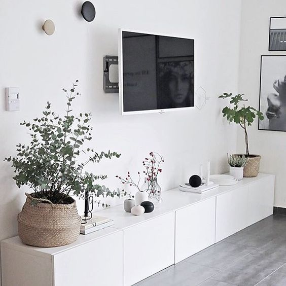 Home Designliving Room: Living Room Scandinavian, Black And White