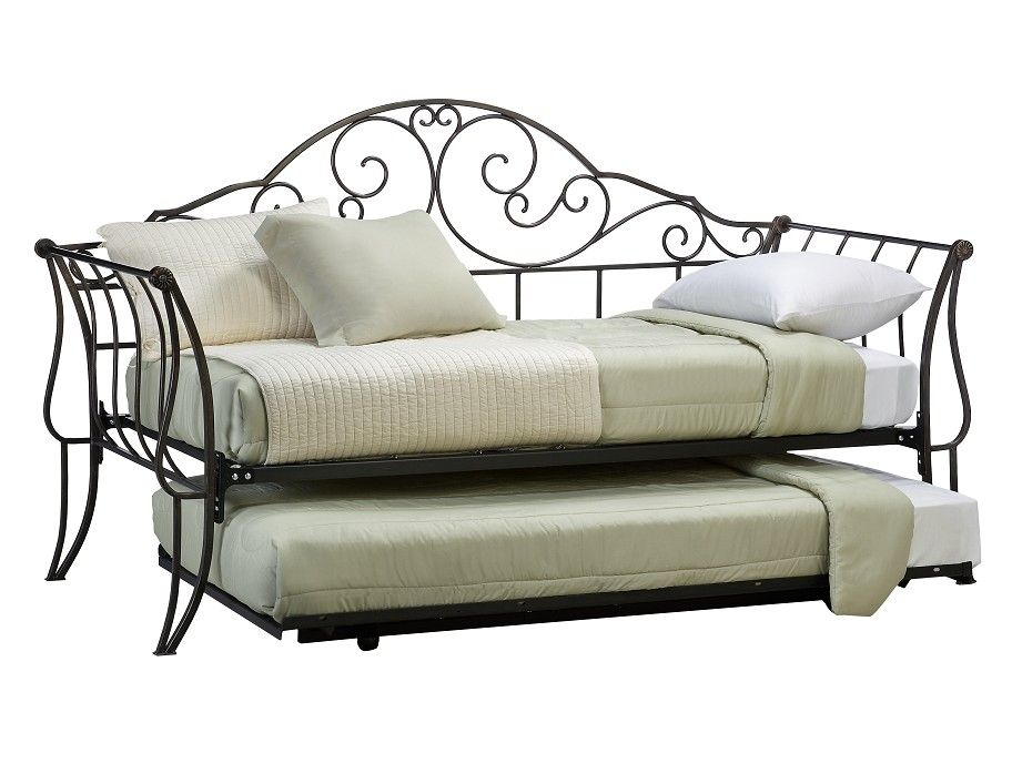 Best Slumberland Toulouse Collection Daybed With Trundle 400 x 300