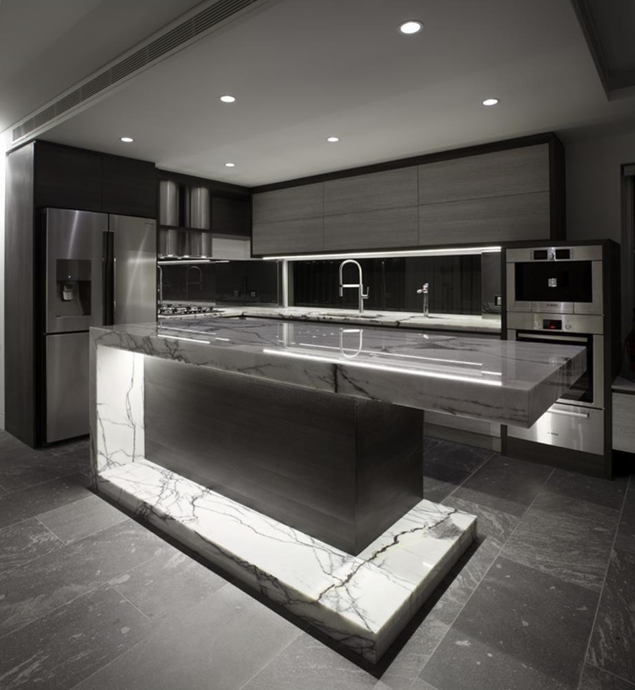Stunning Ultra-Modern Kitchen Island Design Ideas | Modern ... on Ultra Modern Luxury Modern Kitchen Designs  id=43899