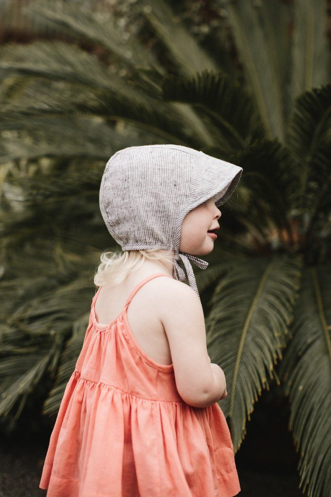 370dda60b Brimmed Natural Stripe | Baby + Kid Style | Baby sun hat, Kids ...