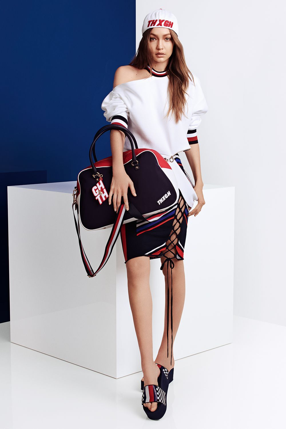 9ed6fa17e9b37b Gigi Hadid and Tommy Hilfiger Unveil a New Racing-Inspired Collection -  HarpersBAZAAR.com