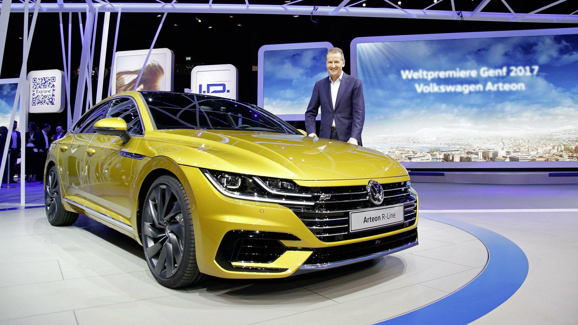 Meet The Future Vw Volkswagen Vwarteon