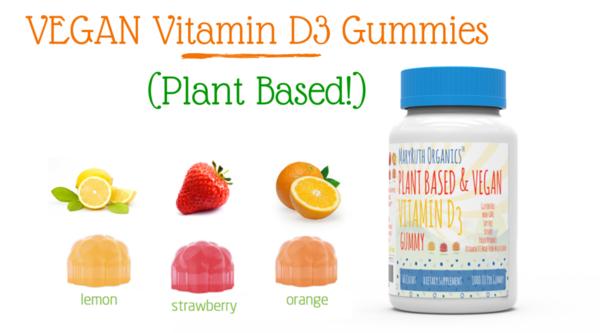 D3 Gummies (60 Count) Vegan vitamins, Vitamins, Liquid