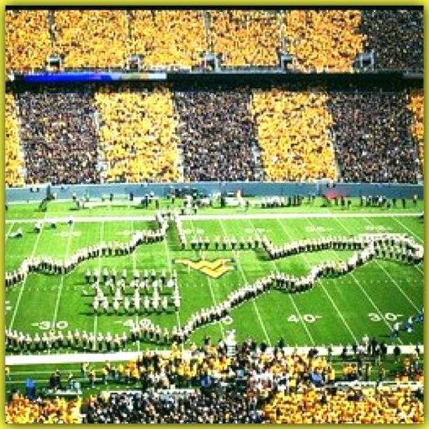West Virginia University WVU's 1st Big 12 game vs Baylor