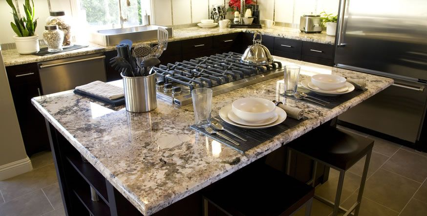 Midwest Granite Countertops In The Burbs With Images Kitchen
