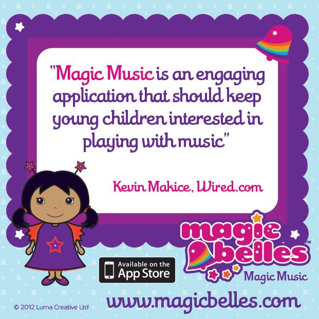 A flutterly lovely review of the Magic Belles App! Fun