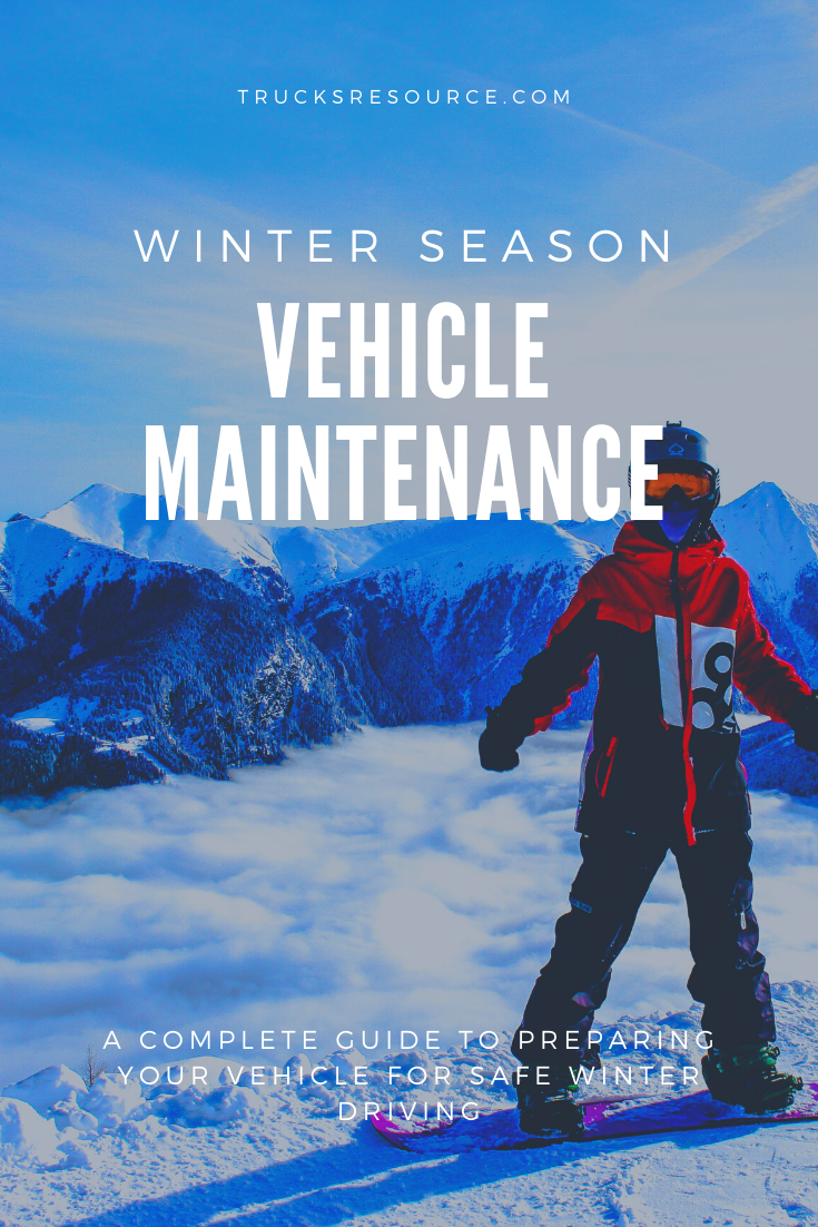 Winter Driving Safety Preparing Your Vehicle The Cold