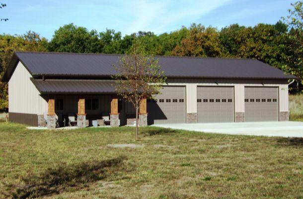 Iowa falls ia hobby shop k van construction company inc for 40x80 pole barn