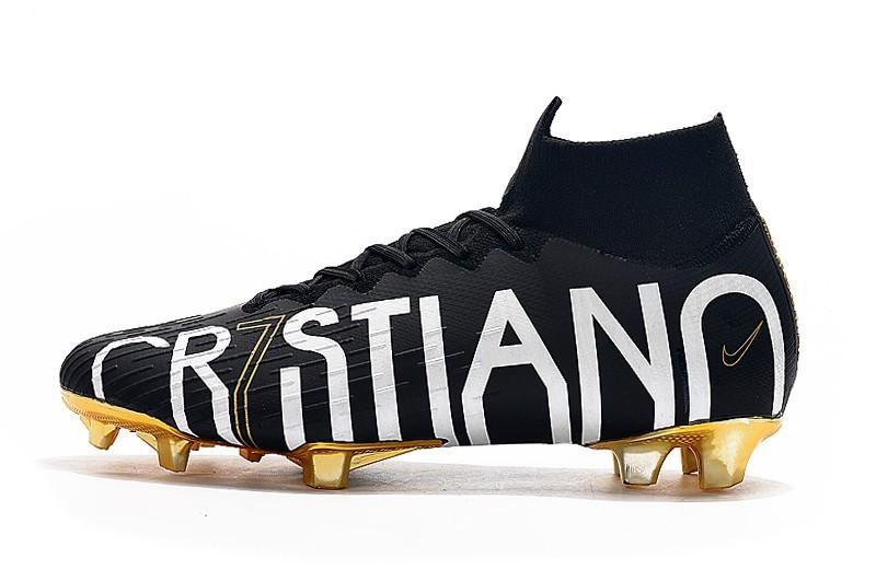 nike football boots black gold