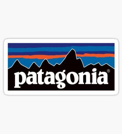 Patagonia Stickers In 2019 Stickers Patagonia Sticker
