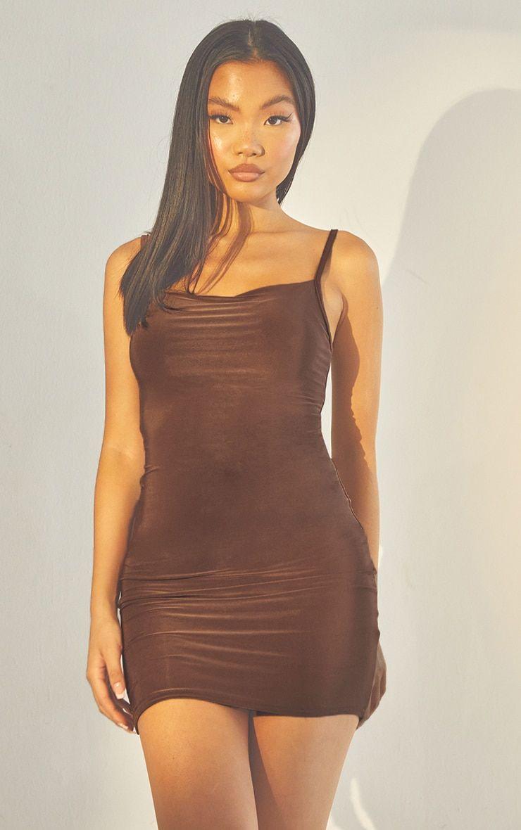 Second Skin Espresso Strappy Bodycon Dress Bodycon Dress Bodycon Dresses [ 1180 x 740 Pixel ]